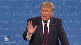 Wird Trump die Wahl anerkennen?