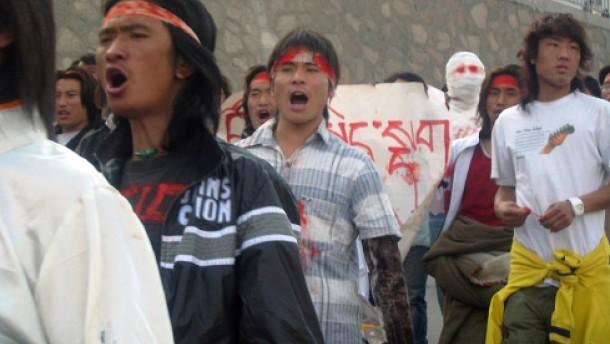 Unterschiedliche Vorstellungen über Tibet