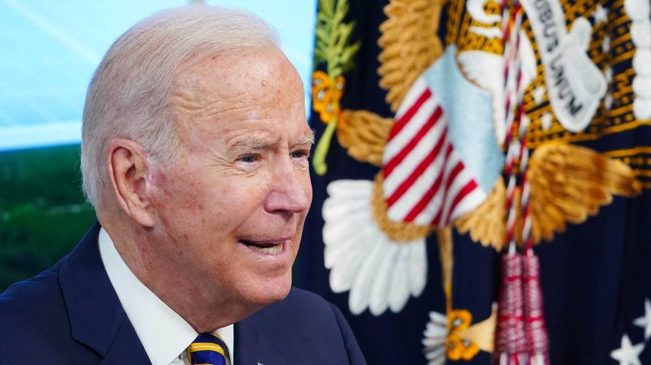 Amerikanischer Präsident Joe Biden