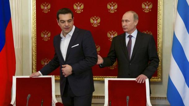 Sanktionen, Geld und Gas