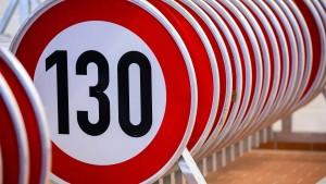 Grüne beantragen Tempolimit 130 auf Autobahnen