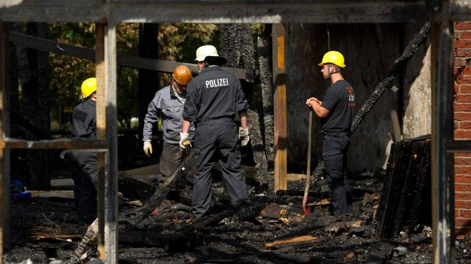 Der Brandschaden in der Willehadi-Kirche soll sich auf eine Million Euro belaufen