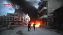 Syrische Armee greift Rebellenregion Idlib an