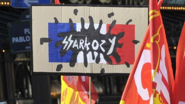 Zeit der Entscheidung für Sarkozy