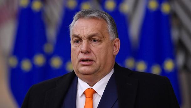 Einsamer Orbán