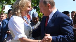 Karin Kneissls Band zu Putin