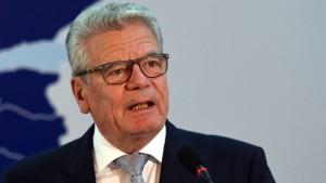 Gauck offen für Entschädigung Griechenlands