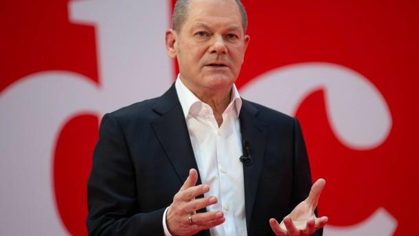 Scholz sieht gute Chance für SPD bei Bundestagswahl