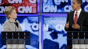 Hillary Clinton wirft Rivalen Schlammschlacht vor