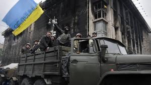 Janukowitsch verschwindet aus Kiew