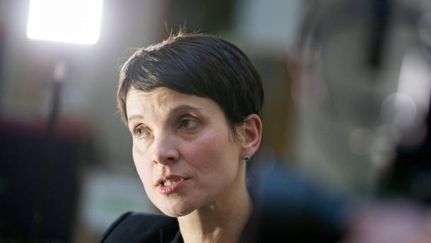 Staatsanwalt beantragt Aufhebung der Immunität von Frauke Petry