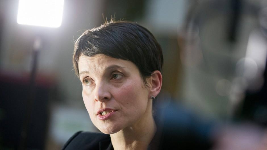 Frauke Petry: Staatsanwalt beantragt Aufhebung der Immunität wegen Meineids