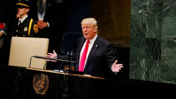 Trump beschimpft Iran als korrupte Diktatur