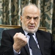 """""""Es gibt keine Gründe für fremde Truppen im Irak."""" Iraks Außenminister Ibrahim al Dschaafari beim F.A.Z.-Gespräch am 18.November im Hotel Hessischer Hof in Frankfurt."""