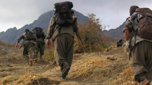 PKK-Rebellen beginnen mit Rückzug