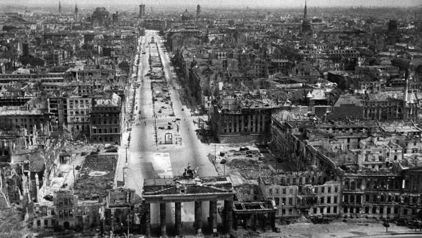 Der Zweite Weltkrieg in Europa ist zu Ende