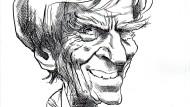 74 Jahre alt und noch immer im Rampenlicht: Hans-Christian Ströbele