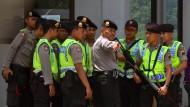 Indonesien lässt fünf Ausländer erschießen
