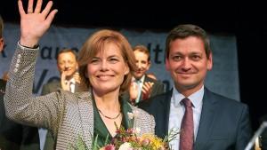 Dämpfer für Julia Klöckner in Rheinland-Pfalz