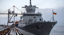 Allzweck-Schiff der Bundeswehr im Einsatz