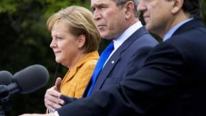 Merkel: Fortschritte bei Klimafragen mit Bush