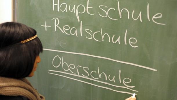 Widerstand gegen CDU-Pläne zur Abkehr von Hauptschule