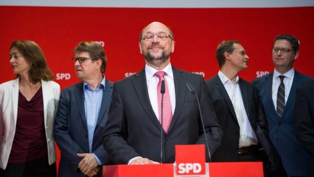 Die Trümmer der SPD