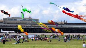 Berlin will Flüchtlinge auf dem Tempelhofer Feld unterbringen