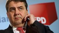 Der SPD-Vorsitzende Sigmar Gabriel
