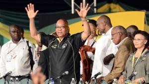Zuma weiterhin ANC-Vorsitzender