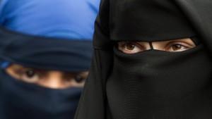 Streit über Niqab-Verbote