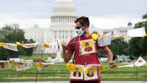 Amerika will China nicht die Rolle des Wohltäters überlassen