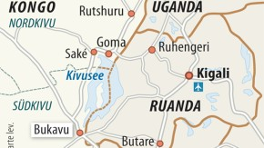 Karte / Kongo / Bukavu