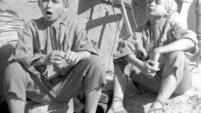 Lech und Jaroslaw Kaczynski 1961