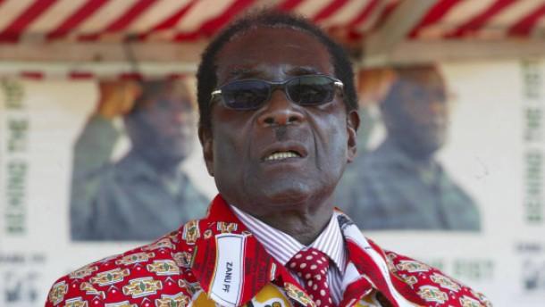 Mugabe zum Wahlsieger erklärt und vereidigt