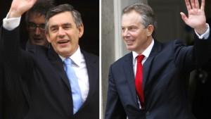 Brown kommt - Blair geht