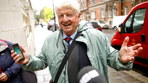 Boris Johnsons Vater beantragt französischen Pass
