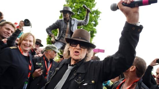 Udo Lindenberg enthüllt sein eigenes Denkmal