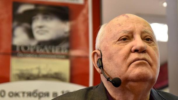 Gorbatschow warnt Russland und Amerika vor atomarem Wettrüsten