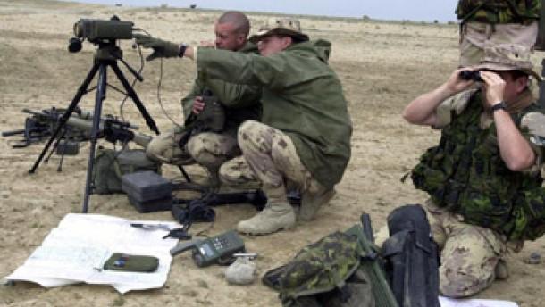 Deutscher Soldat bei Raketenangriff in Kabul verletzt