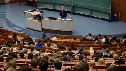 Aufstand gegen den Universitätspräsidenten in Göttingen