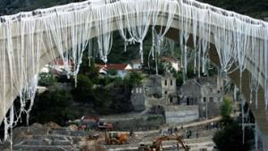 Die Brücke über die Neretva
