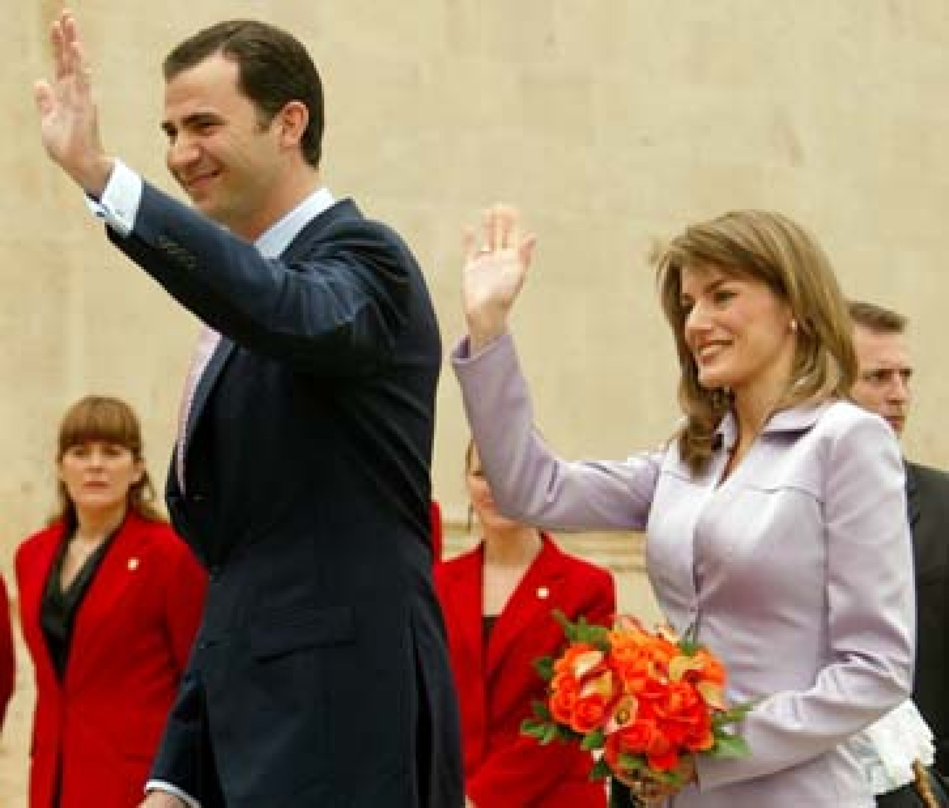 Von spanien zwillinge letizia Königin Letizia: