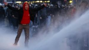 Hooligan-Demo am Brandenburger Tor abgesagt
