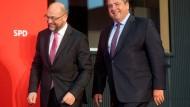 Umfrage: Schulz hätte größere Chance als Gabriel