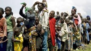 Goma wartet auf Verstärkung