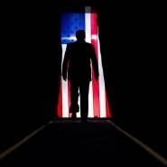 Da geht er seines Weges: Amerikas Präsident Donald Trump tritt am 11. Oktober bei einer Wahlkampfveranstaltung in Lake Charles, Louisiana auf.