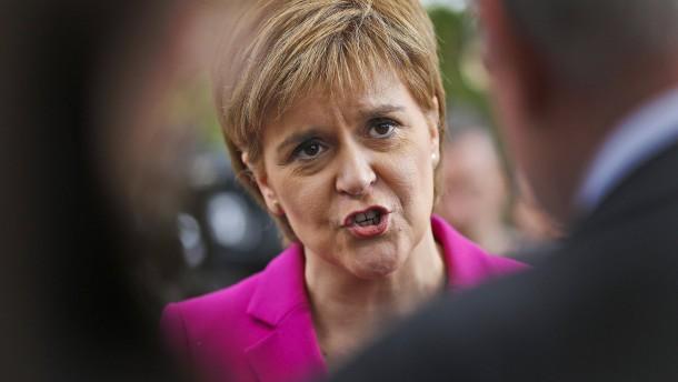 Auf die vorsichtige schottische Art