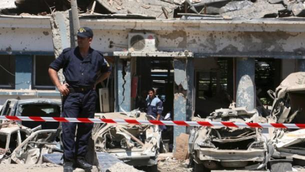 Durch islamistischen Terror in den Grundfesten bedroht
