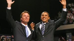 John Edwards unterstützt Obama